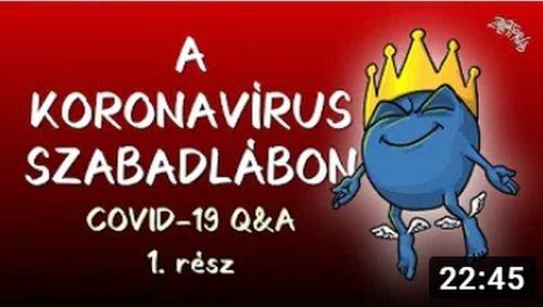 Koronavírus szabadlábon