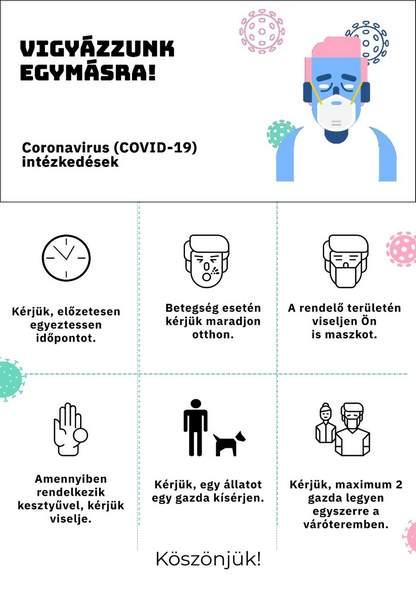 Állatorvosi Rendelő - Koronavírus tájékoztató